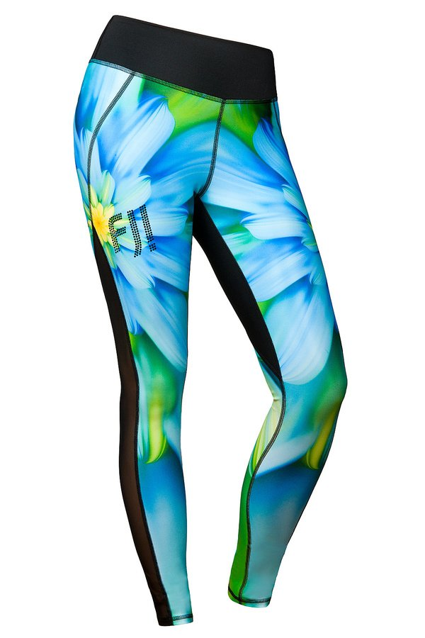 legginsy-blue-flower